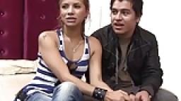 Vidéo porno amateur d'un couple colombien