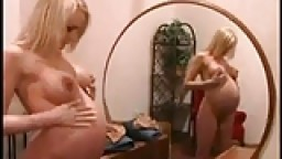 Jolie femme enceinte