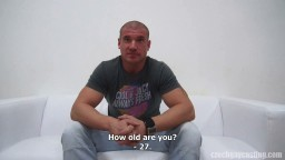 Casting d'un gay tchèque - Martin (3489) hd