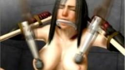 3D Esclave à gros seins