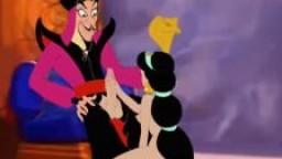 Princesse Jasmine se fait baiser par le magicien noir