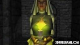 3D une religieuse baisée durement - Vidéo porno