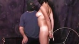 Une esclave pratiques de BDSM