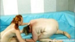 Combat entre Amy et la blonde BGF Diana