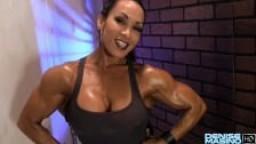 Denise Masino Wall P1 - Bodybuilder Femme