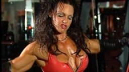 Fran Ferraro 01 - bodybuilder femme