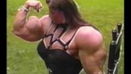 Bodybuilder femme