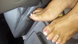 Les pieds de ma latine de 50 ans hd
