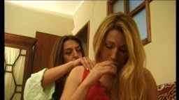 Les portugaises Ana Paula Melo et Cristina Junior se lèchent la chatte