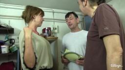 Cette mature allemande a faim de bite, Diether et Markus vont lui en donner hd