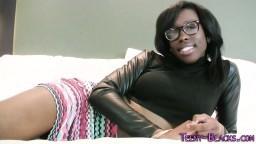 Ca m'excite de savoir que cette jeune black va se faire fourrer hd #06