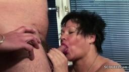 Sa secrétaire a beau être grosse, il a quand m^^eme envie de se la fourrer hd #05