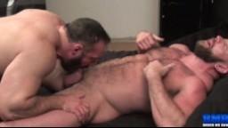 Gays musclés et poilus en action - Film x hd