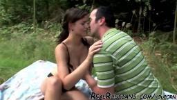 Couple amateur russe baisant dehors - Vidéo x HD