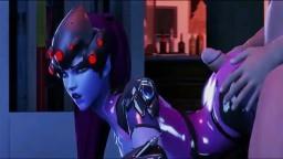 Regardez bien Tracer, Pharah et Widowmaker nous montrer de quoi ils sont fait - Vidéo 3D HD
