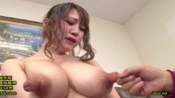 Cette japonaise à des gros seins et des énormes tétons - Vidéo porno - #02