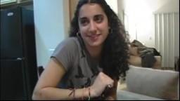 Cette jeune fille arabe s'est déplacée pour du sexe - Vidéo porno