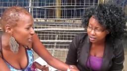 Une black se laisse convaincre par une lesbienne de baiser avec elle - XXX