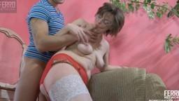 La cougar russe Leonora David enculée durement par un jeune - Vidéo porno hd 1080p - #02