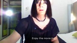 Un vieux travesti se fait enculer et éjaculer dans la bouche - Vidéo porno hd