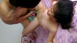 La vidéo faite maison d'un couple de taiwanais chauds du sexe - Film porno hd