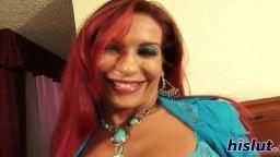 La séduisante mature rousse Helena Hughes baisée par un noir - Vidéo porno hd - #02