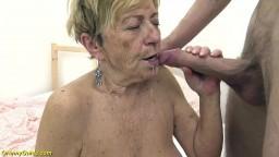 Une grand-mère allemande de 90 ans se fait durement baiser - Vidéo porno hd - #10
