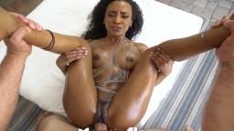 Sexe interracial avec la black exotique Demi Sutra - Vidéo porno hd - #10