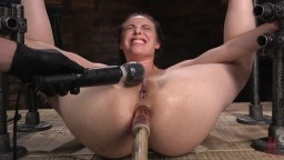 Casey Calvert sodomisée avec un manche et torturée pendant un bdsm - Vidéo porno hd