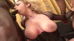 La milf tchèque Anita Vixen baisée durement par deux noirs en double pénétration - Vidéo porno hd - #10