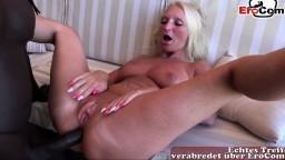 Une grosse bite noire démonte le minou d'une milf amatrice allemande - Vidéo porno hd - #07