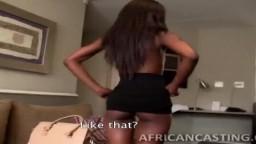 Les casting de l'africaine Lola qui se fait baiser son corps tout fin - Vidéo porno hd - #09