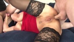 Deux mecs sodomisent comme il faut l'autrichienne Heidi Hills - Vidéo porno hd
