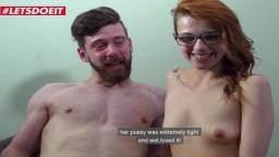 La jeune rousse canadienne Lydia Moser se fait fourrer dans un casting - Vidéo porno hd