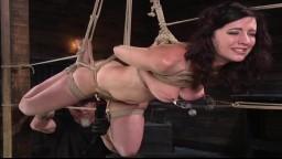 La brune Cherry Torn soumise à une punition corporelle pendant un bdsm - Vidéo porno hd