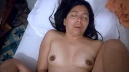 Une amatrice mexicaine se fait remplir le vagin de sperme